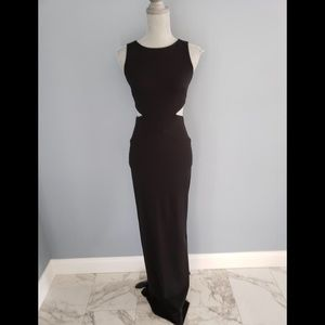 NWT Nicole Miller Sexy Cutout Gown Size 2